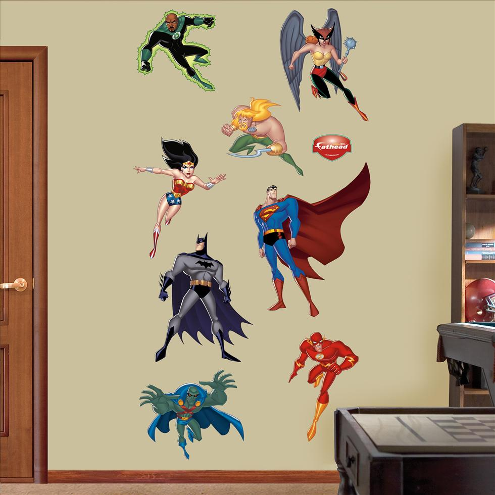 Justice League Cartoon-Fathead