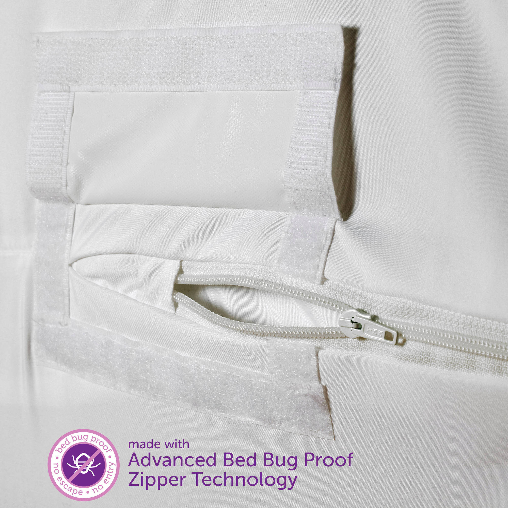 Delicieux AllerEase Maximum Allergy U0026 Bed Bug Protection Zippered Mattress Protector    Walmart.com
