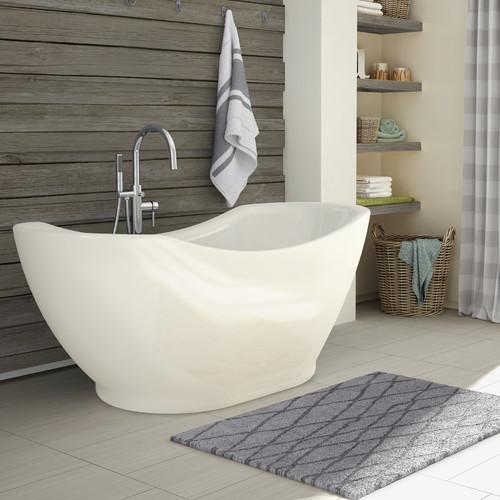 A&E Bath and Shower Salacia 67'' x 27'' Freestanding Soaking Bathtub