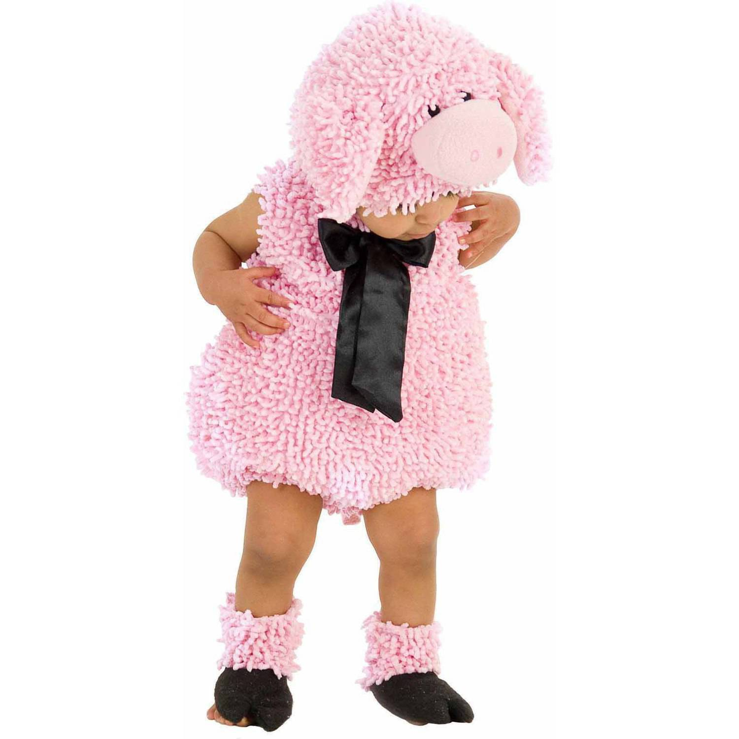 squiggly pig girls' toddler halloween costume - walmart