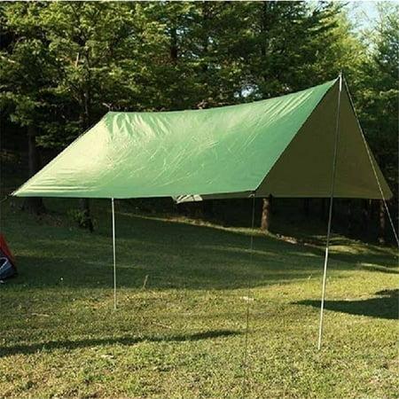 Tent Tarp Rain Sun Shade Hammock Shelter Waterproof Camping Picnic Pad