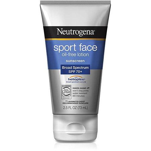 Neutrogena Sport Face Lotion SPF 70+, 2.5 fl oz