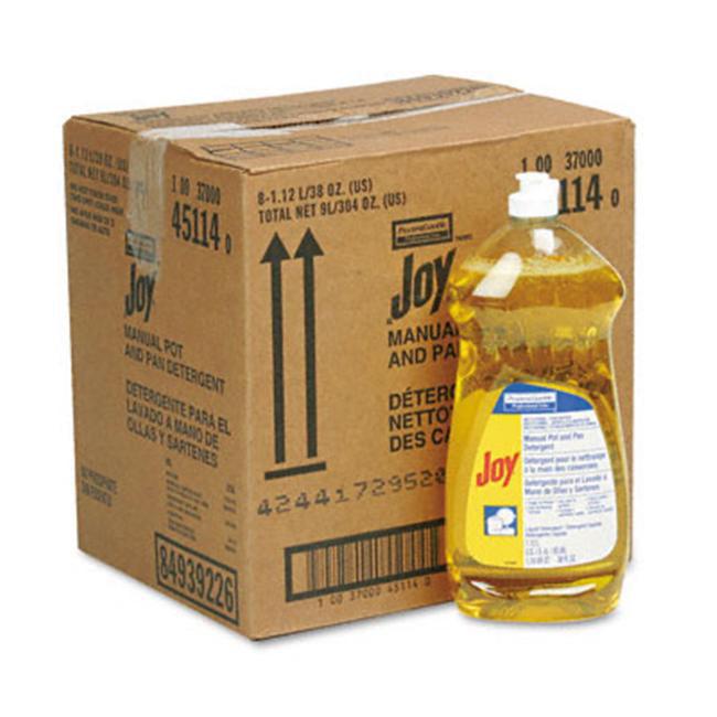 Procter & Gamble 45114CT Joy Dishwashing Liquid  38oz Bottle  8/carton