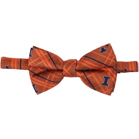 Illinois Fighting Illini Oxford Bow Tie - Orange - No Size Fighting Illini Oxford