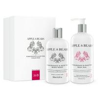 Apple & Bears - Pomegranate & Aloe Vera Gift Set