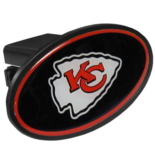 Kansas City Chiefs Official NFL  Trailer Hitch Cover by Siskiyou
