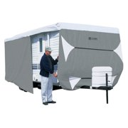 Classic Accessories Over Drive PolyPRO3 Deluxe Travel Trailer Cover or Toy Hauler Cover, Fits 18' - 20' RVs