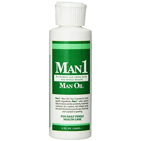 Man Oil - Soothes Dry Red Itchy Penile Skin & Improves Penile Sensation (4