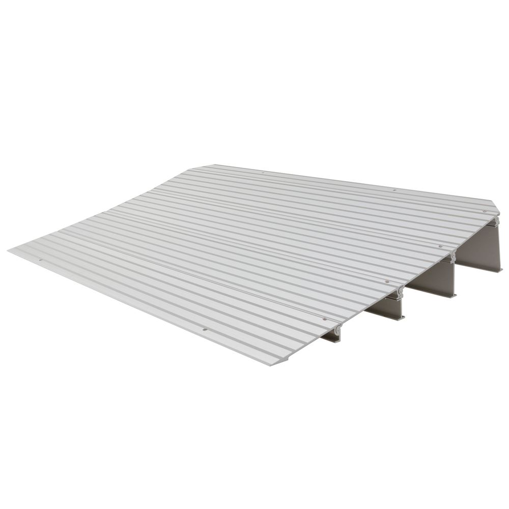 "Silver Spring 4-1/4"" High Aluminum Mobility Threshold Ramp for Wheelchairs, Scooters, and Power Chairs"