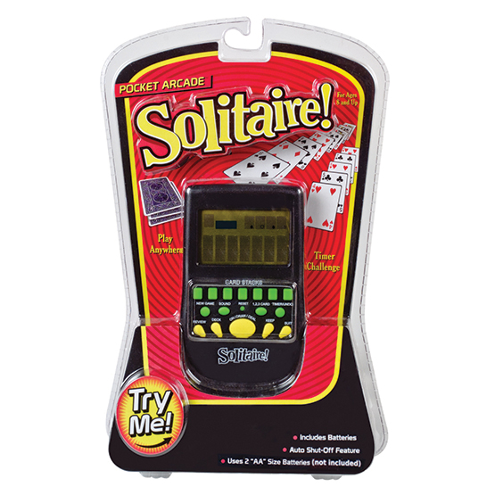 Old School Type Electronic Football Handheld Game Schylling