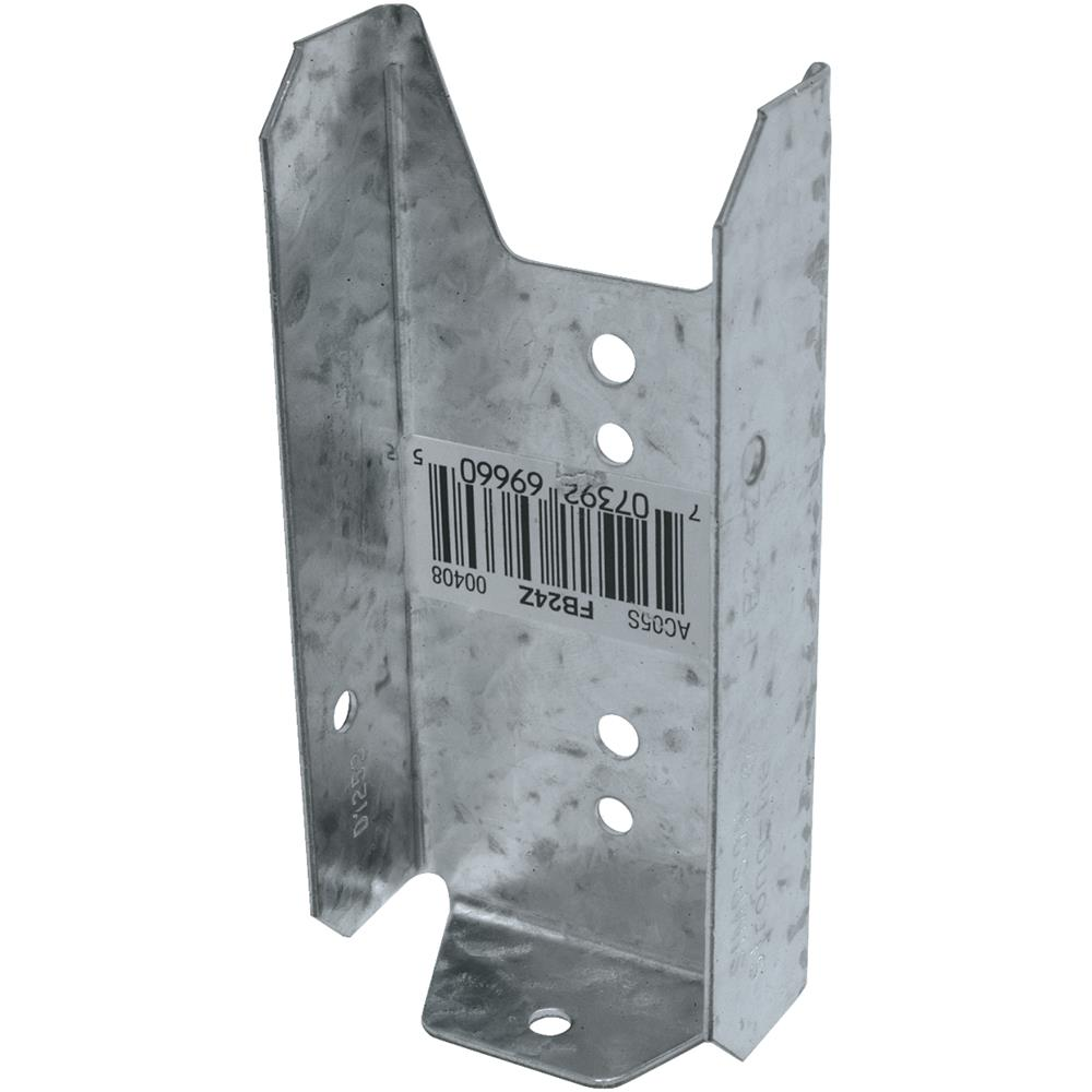 Simpson Strong-Tie 2x4 Fence Bracket Z-Max FB24Z