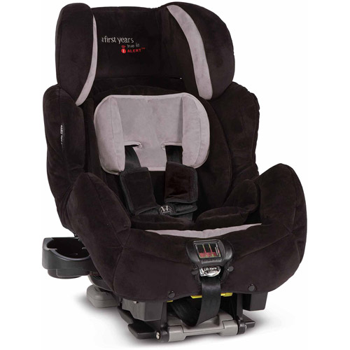 True Fit IAlert Convertible Car Seat, Aurora Black/Gray