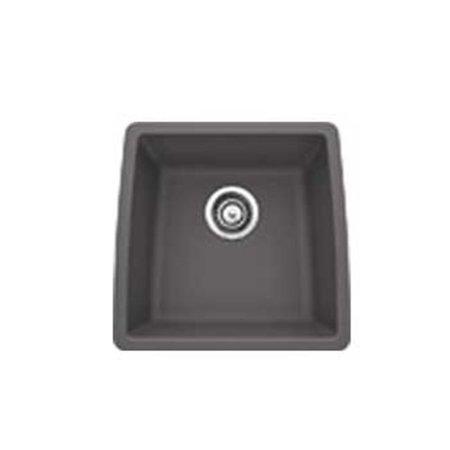 Silgranit II Performa Single Bowl Kitchen Sink - Cinder