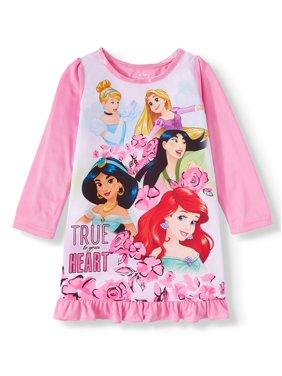 Disney Princess Toddler Girls Long Sleeve Nightgown