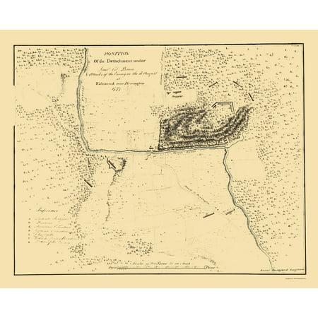 Map Of New York During Revolutionary War