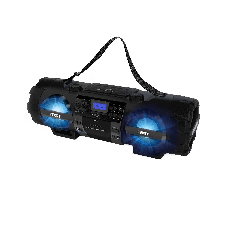 Naxa MP3/CD Bass Reflex Boombox & PA System