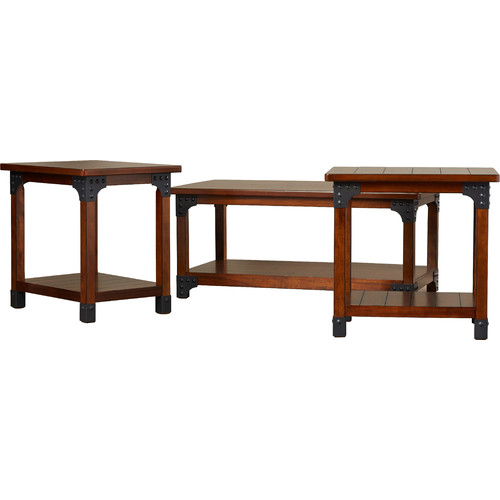 Loon Peak Penrose Portland 3 Piece Coffee Table Set