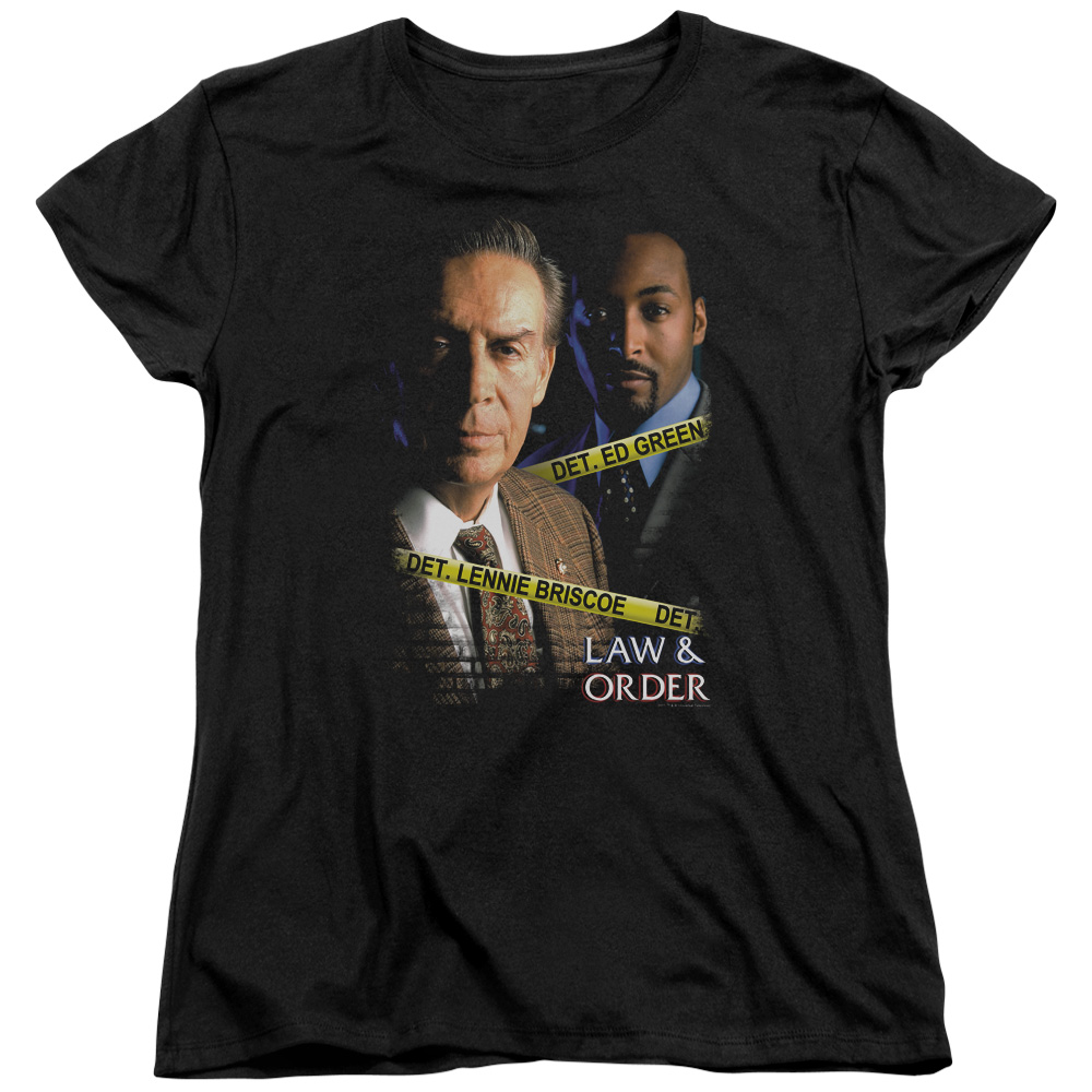 Law & Order Briscoe&Green Womens Short Sleeve Shirt