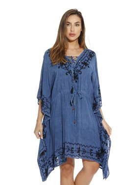 dde48b362a330 Product Image Riviera Sun Lace Up Caftan / Caftans for Women