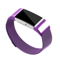Stainless Steel Mesh Milanese Loop Band for Fitbit Charge 2