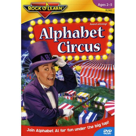 Rock N Learn Alphabet circus Abc song - YouTube