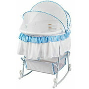 Dream On Me Lacy Portable 2-in-1 Bassinet and Cradle, Choose Your Color