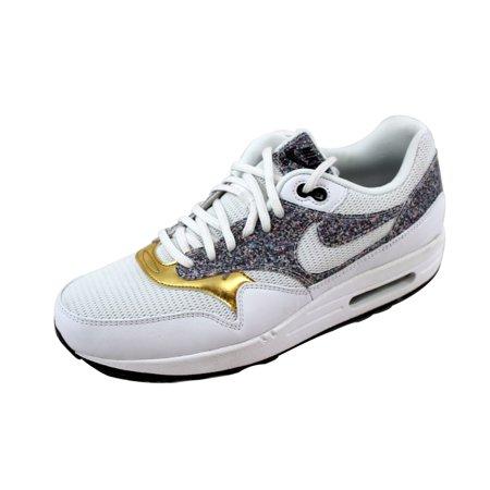 98170cd3a20603 Nike - Nike Women s Air Max 1 SE White White-Black 881101-100 - Walmart.com