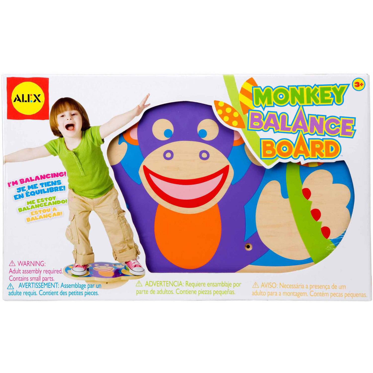 ALEX Toys Active Play Monkey Balance Board by Poof Toy Products