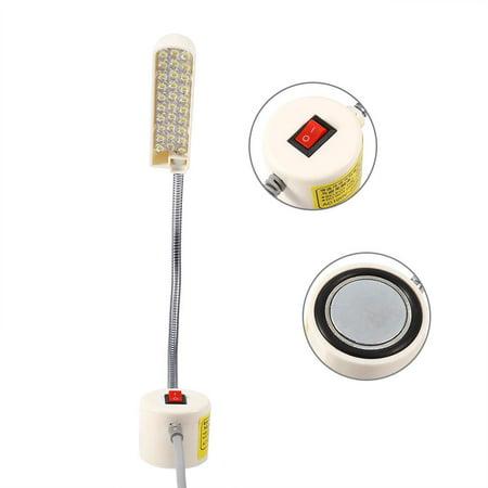 Sewing Machine Light,Yosoo 1pc AC 110V-240V 30 LED Light Lamp Magnetic Base Switch for Sewing Machine Working Light,Magnetic Base Light - image 4 of 6