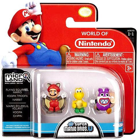 Flying Squirrel Mario, Koopa Troopa & Nabbit Mini Figure - Koopa Troopa Costume