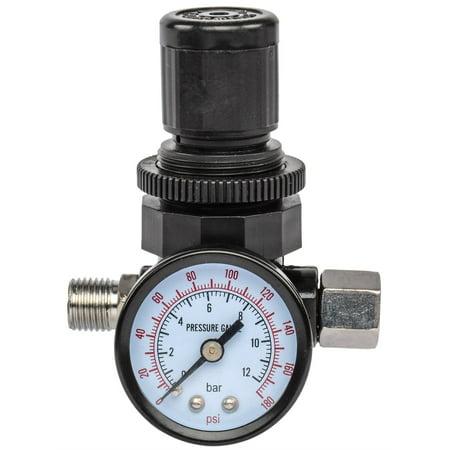 Icon Mens Regulator - JEGS M688 Locking Air Pressure Regulator with Gauge