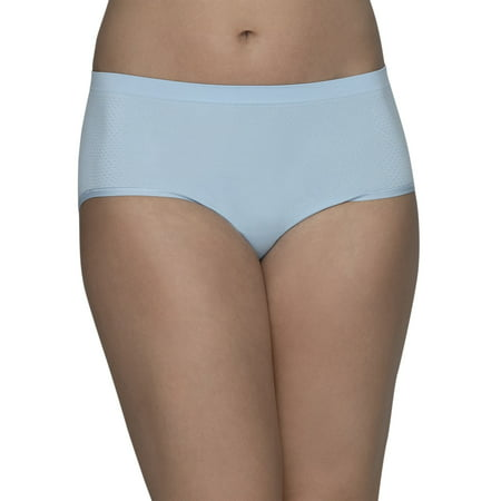 Women's Breathable Seamless Low Rise Brief Underwear, 3 Pack