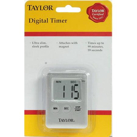 Taylor Mini Digital Timer - Walmart.com