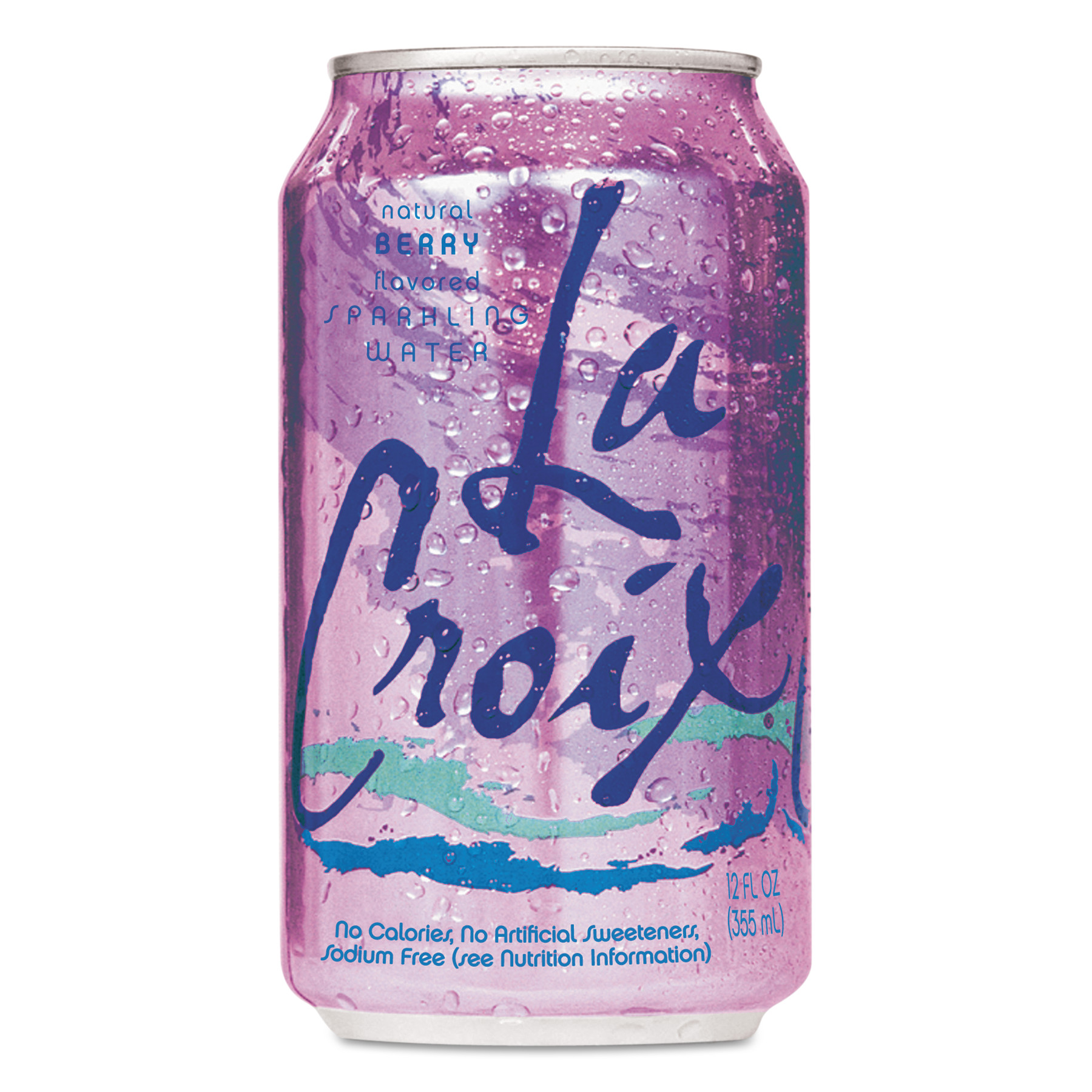 LaCroix Berry Sparkling Water, 12 fl oz, 24 pack by NATIONAL BEVERAGE CORP.