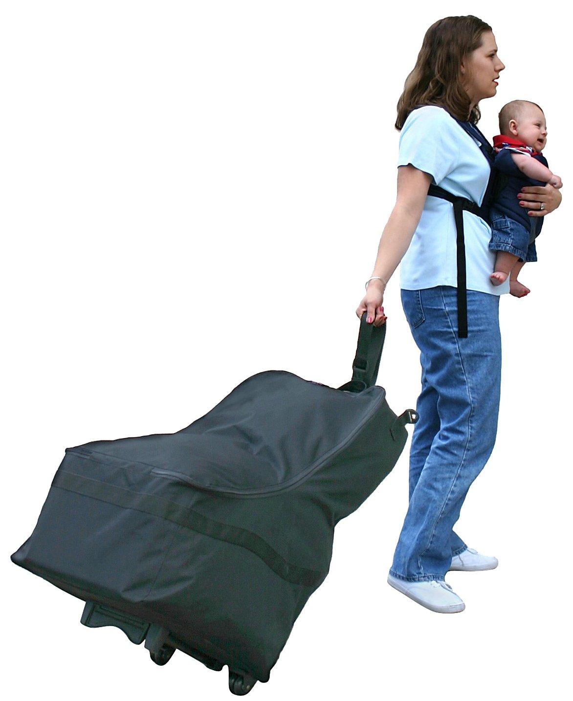 JL Childress Wheelie Car Seat Travel Bag