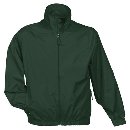 Tri-Mountain Men's Big And Tall Zipper Shell