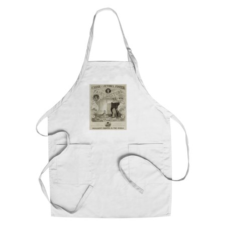 The Fairy Sisters Vintage Poster (artist: Briggs) USA c. 1872 (Cotton/Polyester Chef's Apron)](The Vintage Fairy)