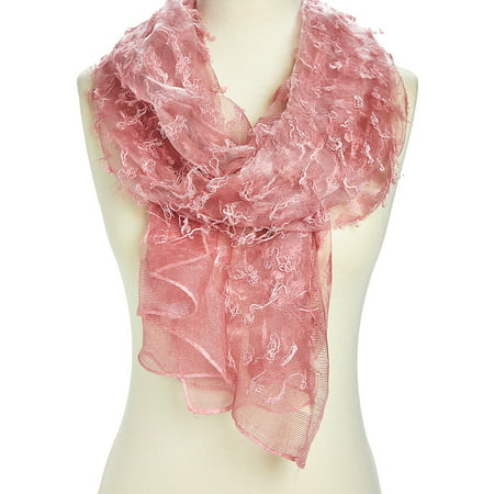Pink Scarfs for Women Winter Summer Fashion Scarves Lightweight Evening Party Scarf Long Neck Wraps Gift Accessories Online