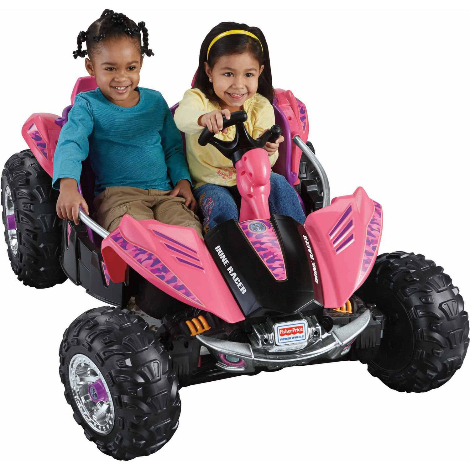 Power Wheels Dune Racer 12-Volt Battery-Powered Ride-On, Pink