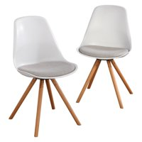 01e86508c4cd Product Image Target Marketing Systems Hettie Mid-Century Dining Side Chair  - Set of 2