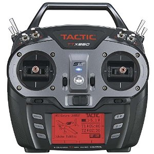 Tactic TTX850 8-channel 2.4ghz SLT Computerized R/C Airplane/Helicopter Transmitter TACJ2850 Multi-Colored