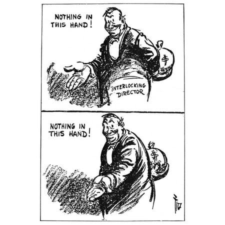 Anti-Trust Cartoon 1914 Ndaniel R FitzpatrickS Comment On ...