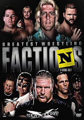 WWE Presents Greatest Wrestling Factions (DVD) by World Wrestling Entertainment