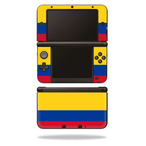MightySkins Protective Vinyl Skin Decal Cover for Nintendo 3DS XL Original (2012-2014 Models) Sticker Wrap Skins Colombian Flag