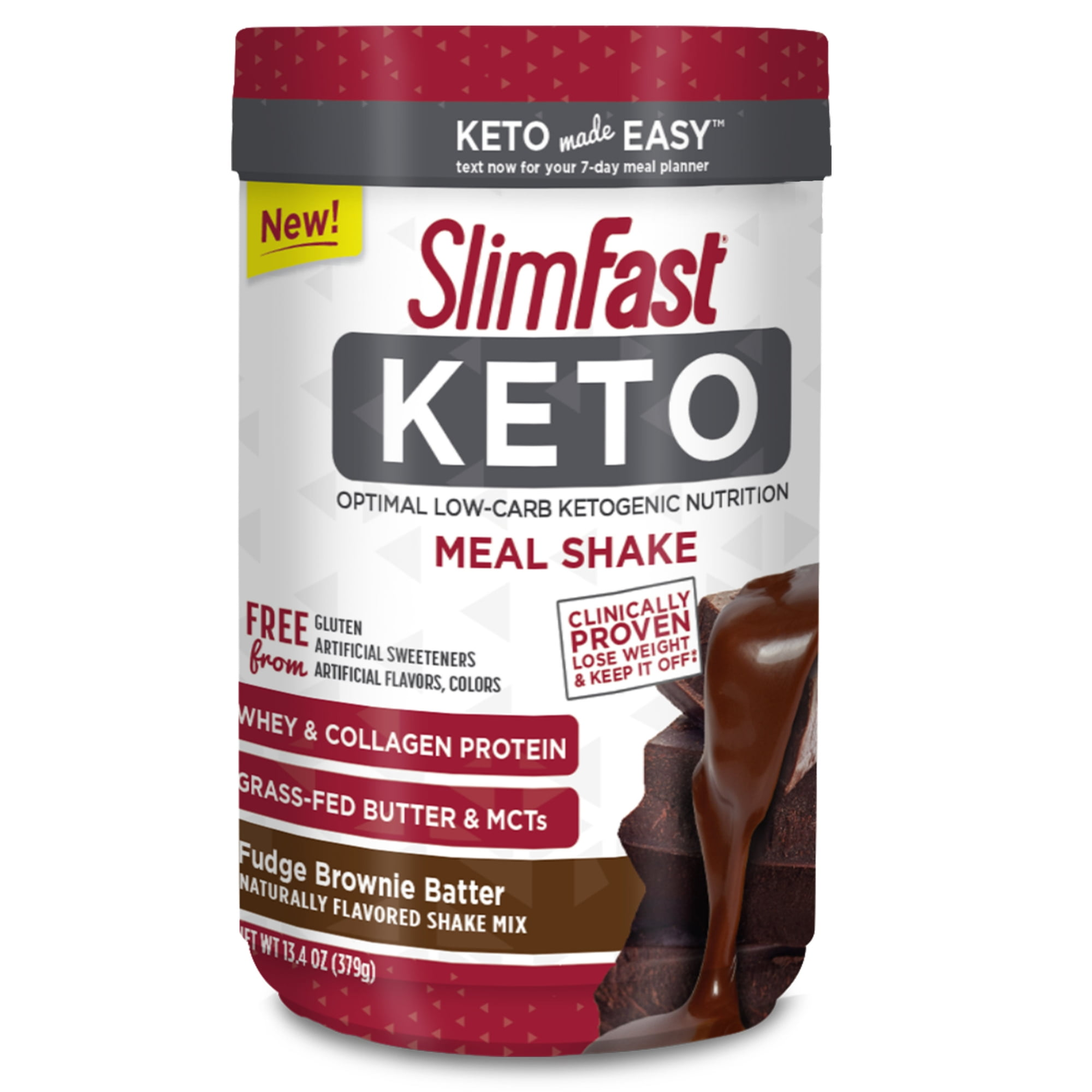 Can you have slimfast on keto diet