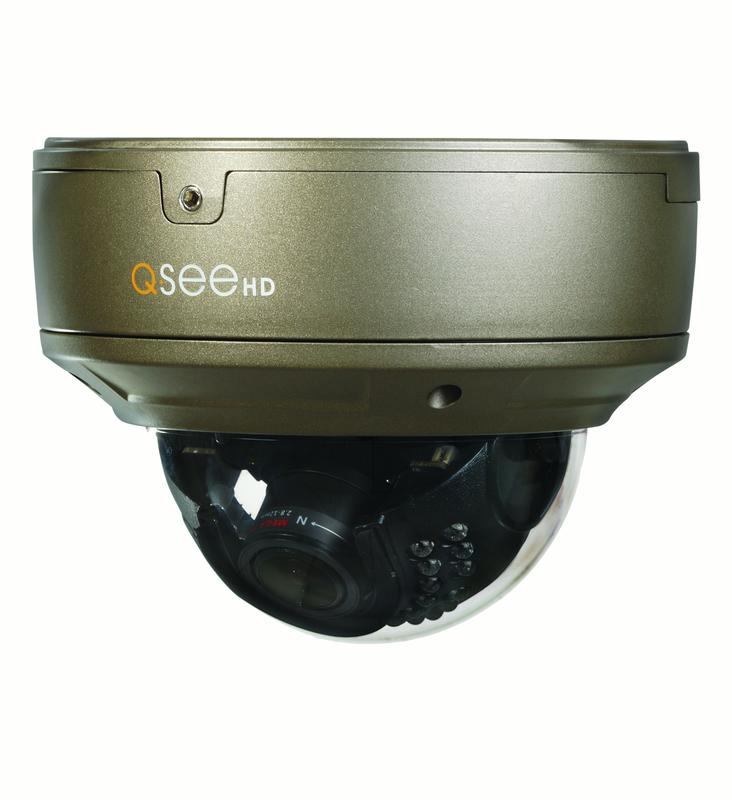 Q-See 4MP IP HD VARIFOCAL DOME SECURITY CAMERA