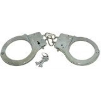 Police Toy Metal Handcuffs with Keys - 1 - Toy Handcuffs