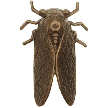 Vintaj Natural Brass, Cicada Embellishment 50x31mm, 1 Piece, Brass