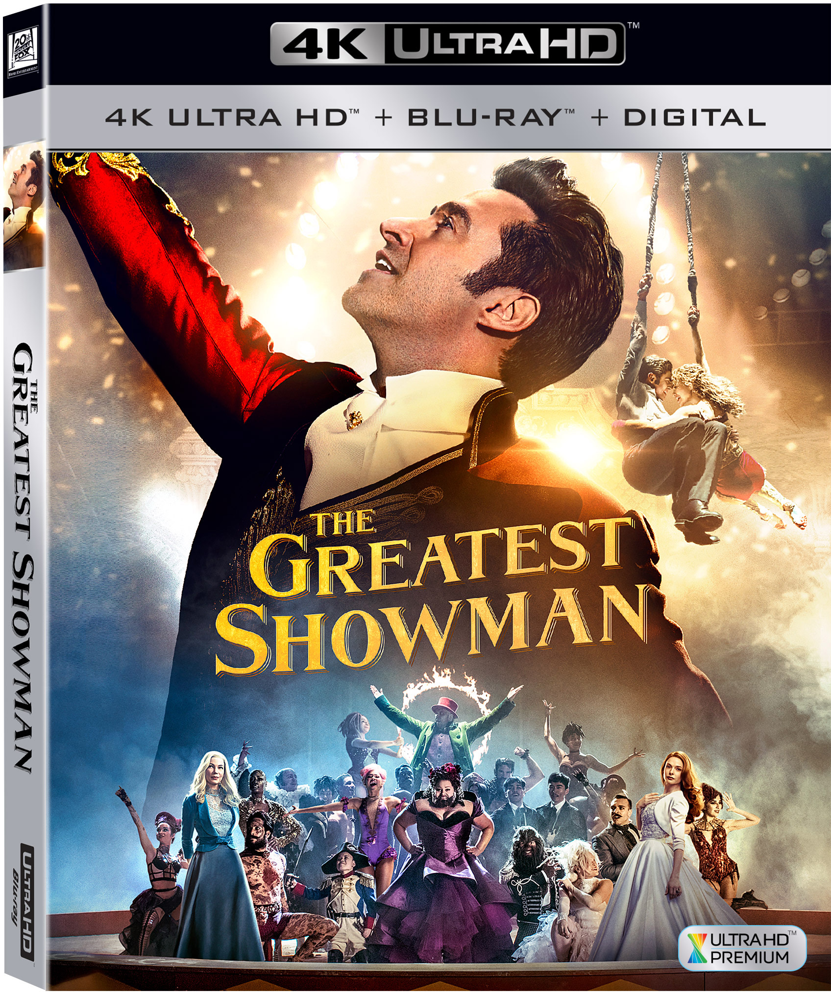 The Greatest Showman (4K Ultra HD + Blu-ray + Digital)