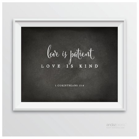 Corinthians 60 60 Love Is Patient Biblical Quotes Chalkboard Fascinating Love Is Patient Quote
